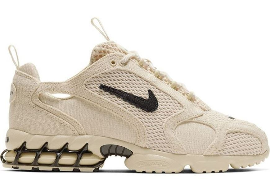 Picture of Nike Air Zoom Spiridon Cage 2 Stussy Fossil