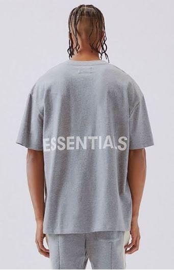 Picture of Fear Of God Essentials Tee Grey