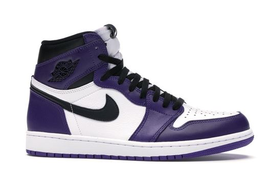 Picture of Jordan 1 Retro High Court Purple White
