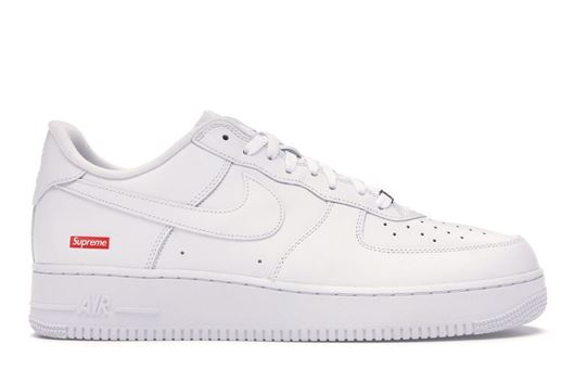Picture of Nike Air Force 1 Low Supreme White
