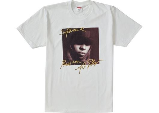 Picture of Supreme Mary J. Blige Tee White