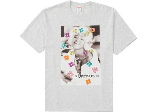 Picture of Supreme Naomi Tee Ash Grey
