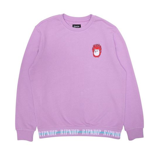 Picture of Ignite Crew Neck Sweater Lavender