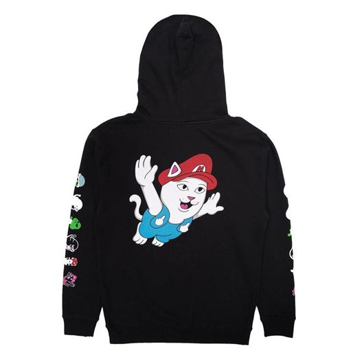 Picture of Nermio Hoodie Black