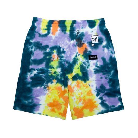 Picture of Peek A Nerm Tie Dye Shorts Multi