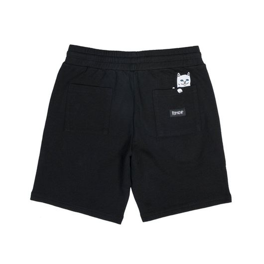 Picture of Peeking Nerm Sweat Shorts Black