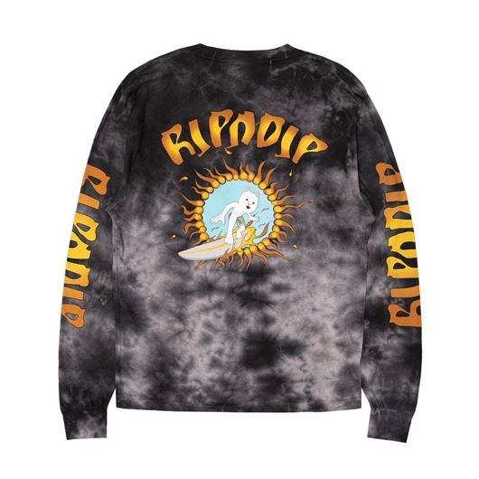 Picture of Surf Up L/S Black Mineral Wash