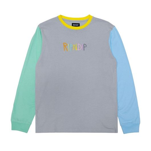 Picture of Embroidered Logo L/S Multi
