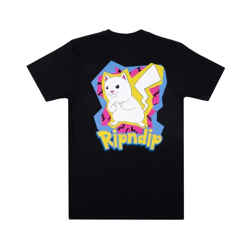 Picture of Catch Em All Tee Black