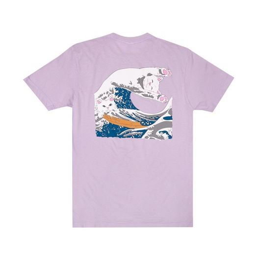 Picture of Great Wave Tee Lavender
