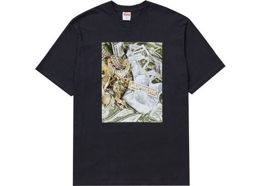Picture of Supreme Bling Tee Navy
