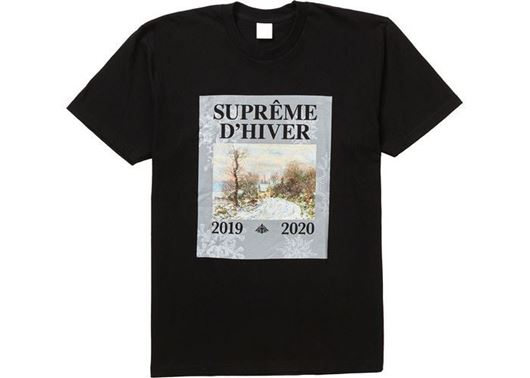 Picture of Supreme D'Hiver Tee Black