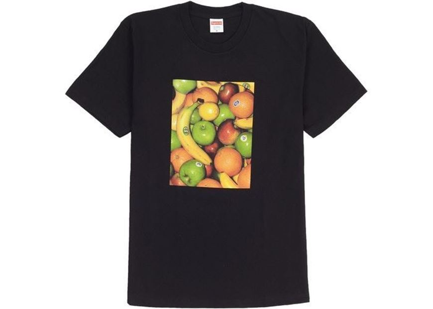 Picture of Supreme Fruit Tee Black