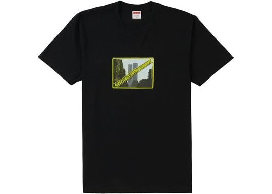 Picture of Supreme Greetings Tee Black