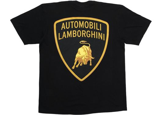 Picture of Supreme Automobili Lamborghini Tee Black