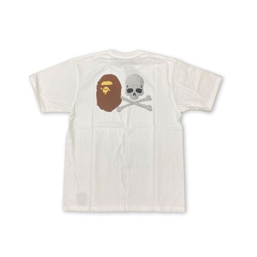 Picture of Bape x Mastermind Tee White