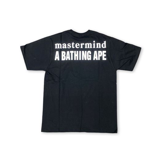 Picture of Bape x Mastermind Tee Black
