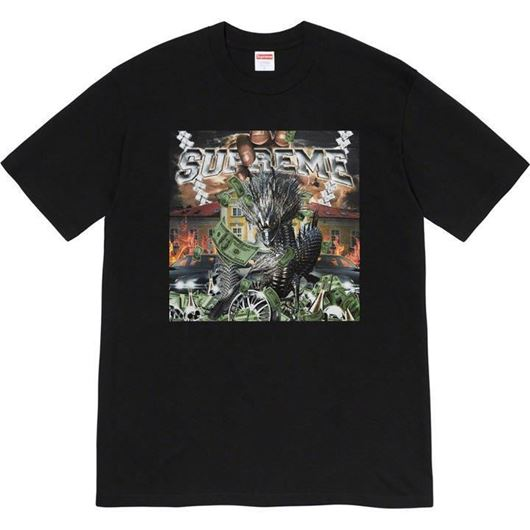 Picture of Supreme Dragon Tee Black