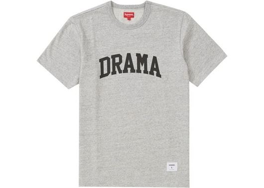 Picture of Supreme Drama S/S Top Heather Grey