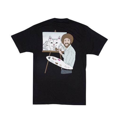 Picture of Beautiful Mountain Tee Black