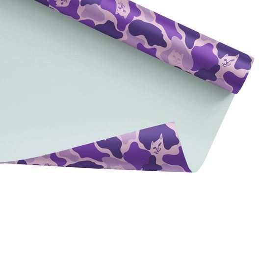 Picture of Nermal Camo Wrapping Paper Purple Camo