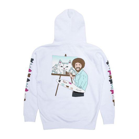 Picture of Beautiful Mountain Hoodie White