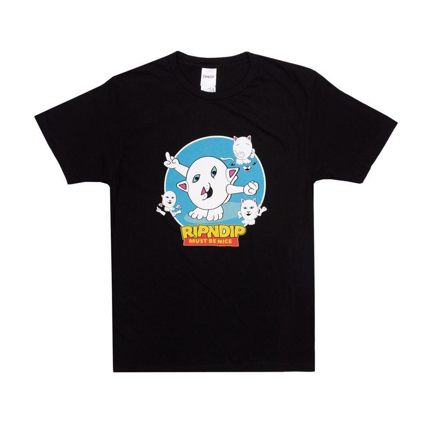Picture of Nerm Story Tee Black