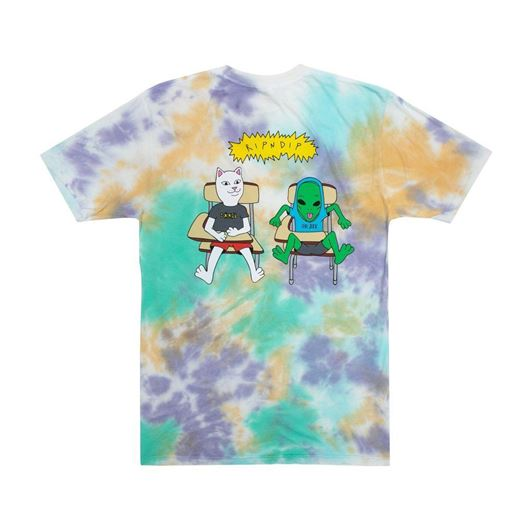 Picture of Butz Up Tee Multi Cloud Wash
