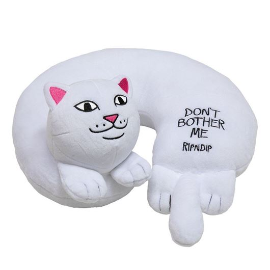 Picture of Don?t Bother Me Travel Neck Pillow White