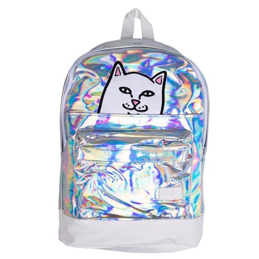 Picture of Lord Nermal Velcro Backpack Iridescent