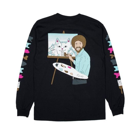 Picture of Beautiful Mountain L/S Tee Black