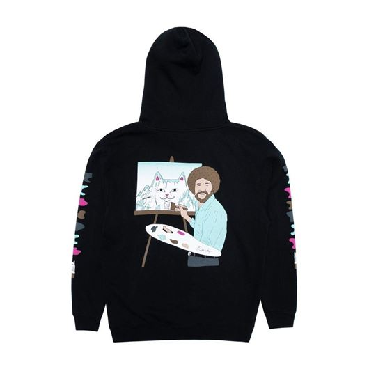 Picture of Beautiful Mountain Hoodie Black