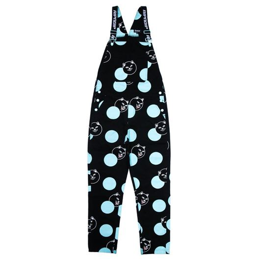 Picture of  Polka Jerm Overalls Black