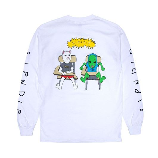 Picture of Butts Up Long Sleeve White