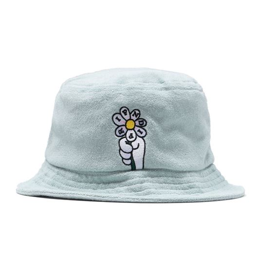 Picture of She Loves Me Not Sherpa Bucket Mint