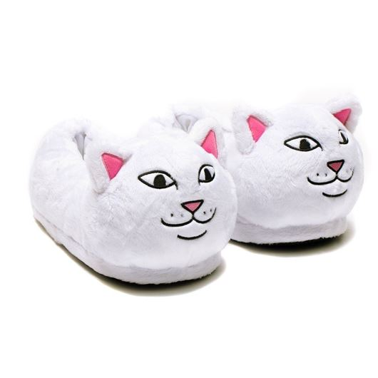 Picture of Lord Nermal Slippers White