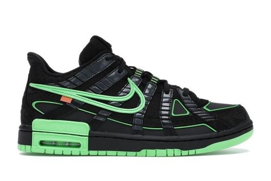 Picture of Nike Air Rubber Dunk Off-White Green Strike