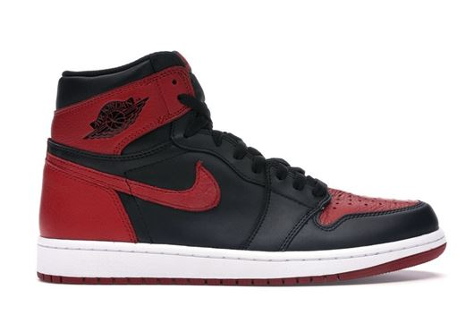"""Picture of Jordan 1 Retro Bred """"Banned"""" (2016)"""