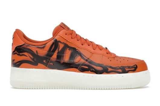 Picture of Nike Air Force 1 Low Orange Skeleton