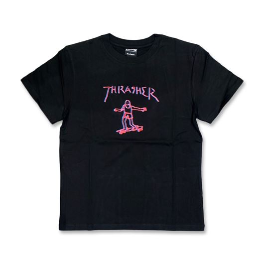 Picture of DOUBLE GONZ Tee Black