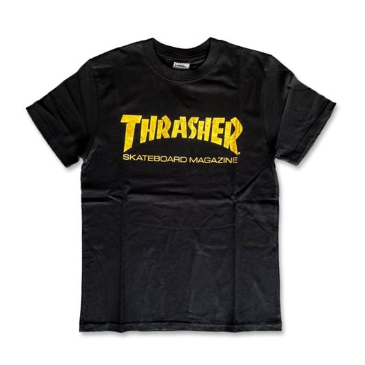 Picture of Skate Mag Foil Tee Black/Gold