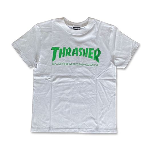 Picture of Skate Mag Foil Tee White