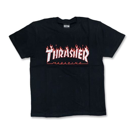 Picture of SPLATTER FLAME Tee Black