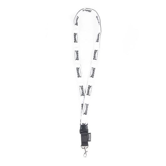 Picture of HOMETOWN NECK STRAP KEYCHAIN White