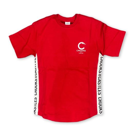 Picture of Side Line Tee Red