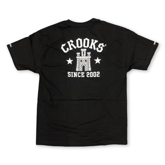 Picture of Chain Castle Tee Black