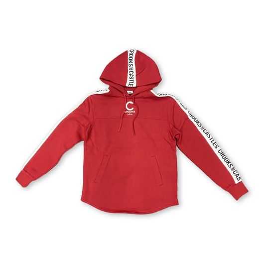 Picture of SIDE LINE Pullover Red