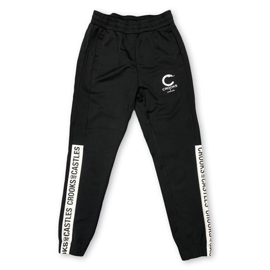 Picture of SIDE LINE Track Pants Black