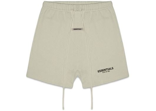 Picture of FEAR OF GOD ESSENTIALS Fleece Shorts Moss