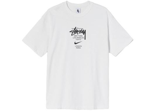 Picture of Nike x Stussy International T-Shirt White